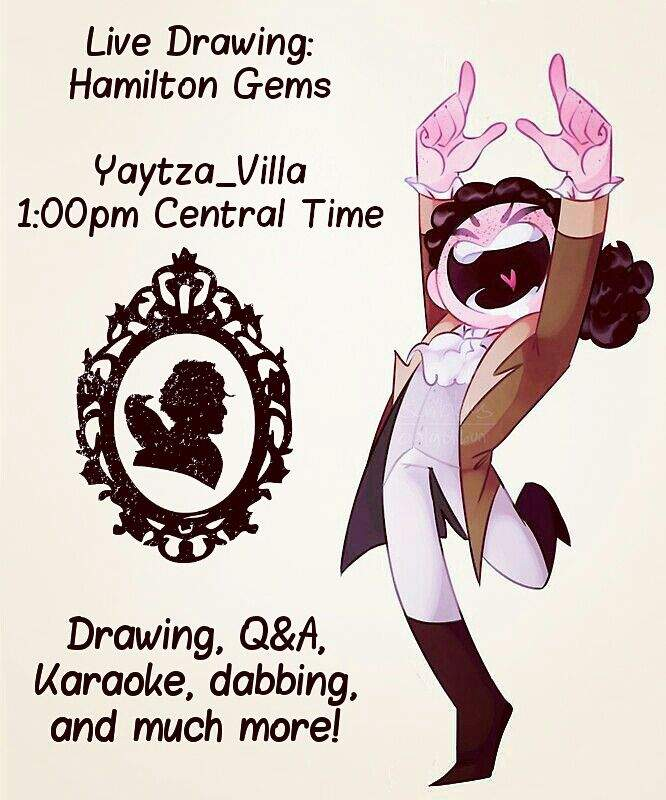 hamilton gems livestream cartoon amino