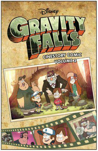 Gravity Falls Cinestory Comic Volume 3