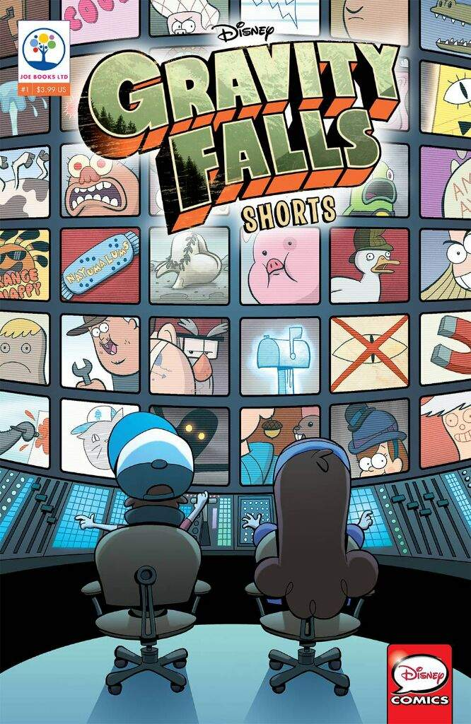 Gravity Falls Shorts Cinestory 1