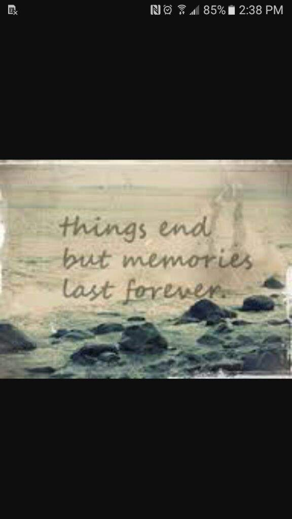 Quote 1 Things End But Memories Last Forever Anime Amino