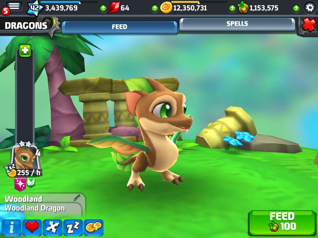 Woodland   DragonVale Amino