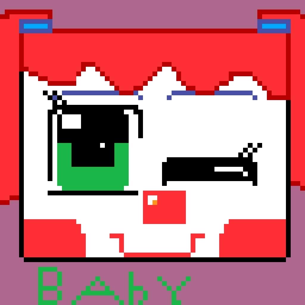 Baby Pixel art  | Five Nights At Freddy's Amino