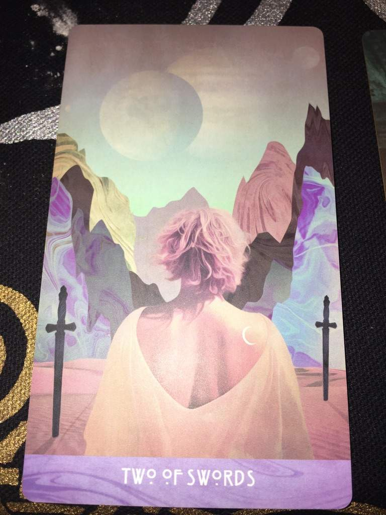 Tarot Card of the Day - Two of Swords | Pagans & Witches Amino