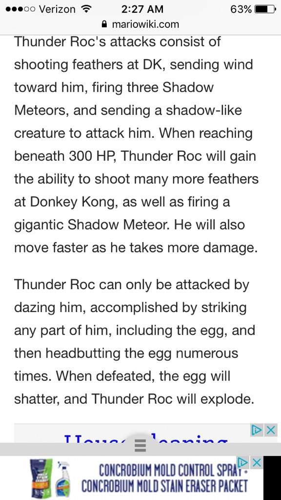 Thunder Roc | Video Games Amino