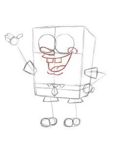 Aprenda A Desenhar O Bob Esponja Passo A Passo Bob Esponja Amino