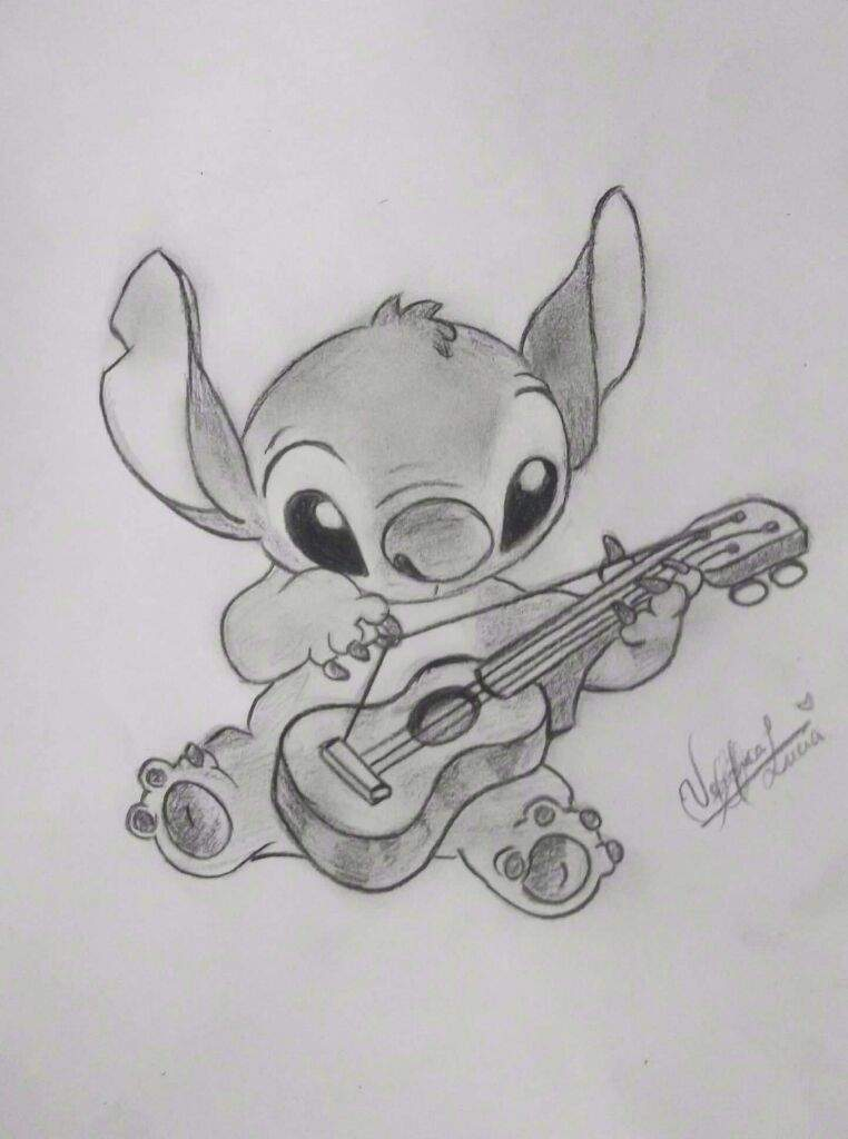 Disney Lápiz Stitch Dibujo Facil De Wwwimagenesmycom