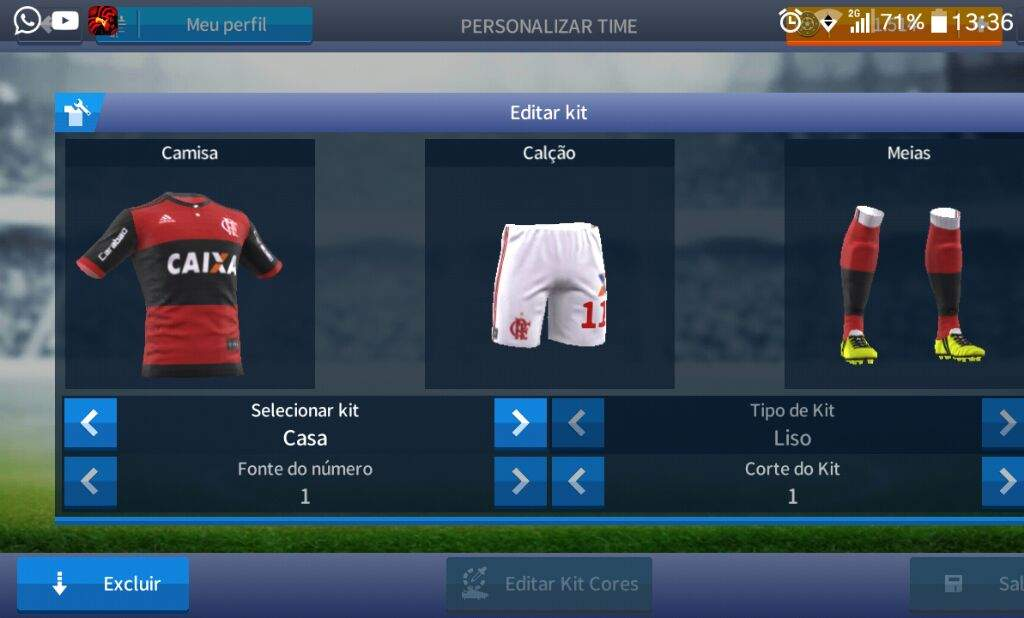 Uniforme Flamengo 2017   Dream League Soccer  25369673da627
