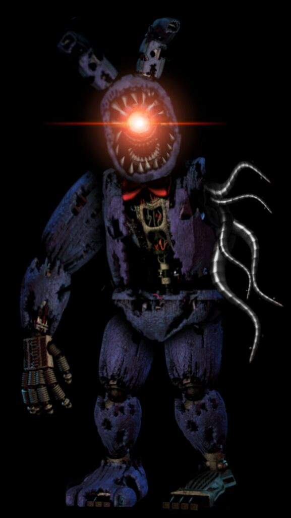 nightmare withered bonnie five nights at freddy s amino