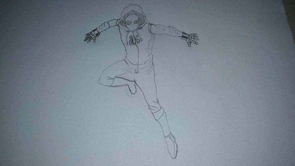 Meu Desenho Do Homem Aranha De Volta Ao Lar
