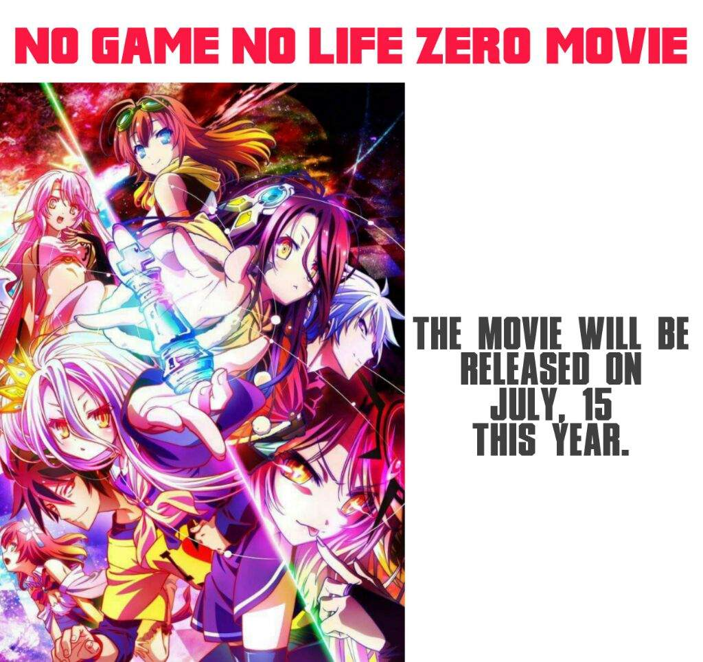 The Official Website For No Game Life Anime Franchise Began Streaming A Teaser Ad On Friday Upcoming Film Titled