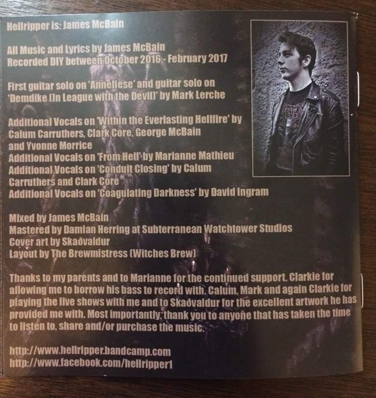 Hellripper's Coagulating Darkness Review | Metal Amino