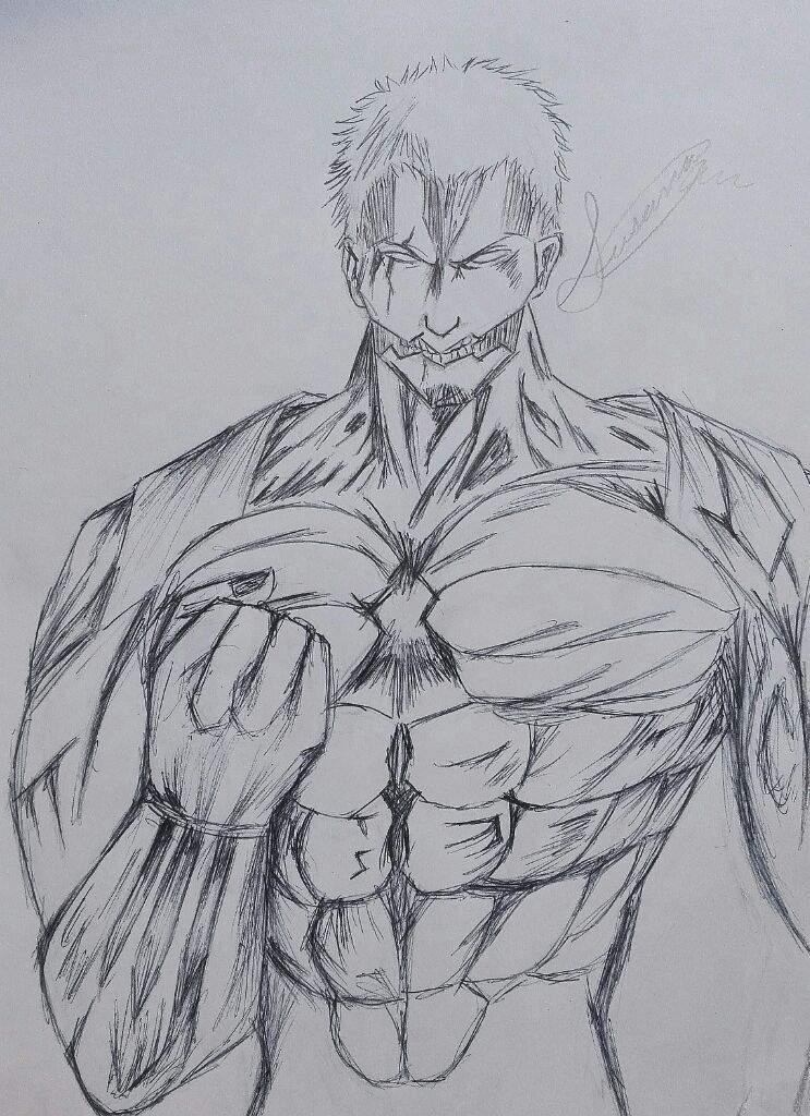 Dibujo De Reiner Y Jean Kirsten Attack On Titan Amino