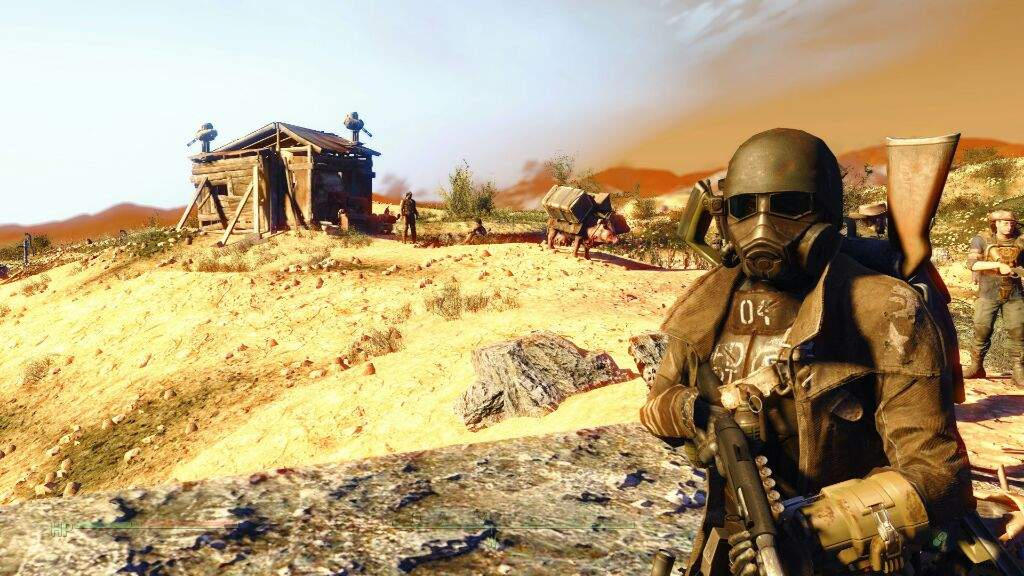 fallout new vegas how to join ncr