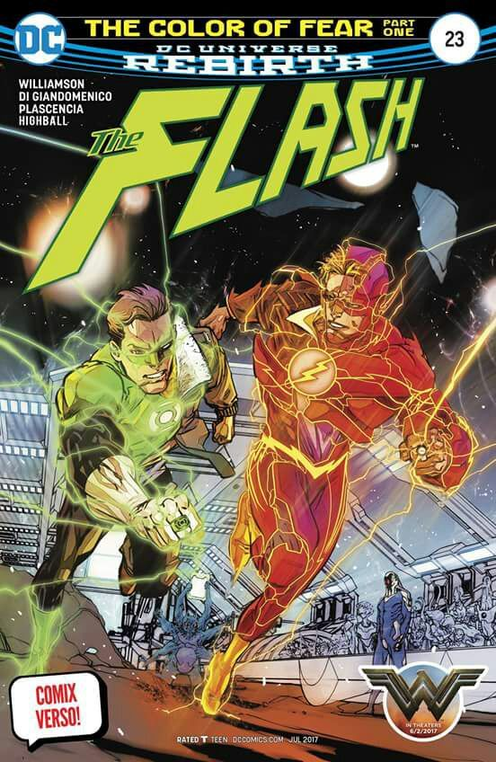 Comic #5 - the color of fear parte uno. Flash #23 | ◇ Marvel & DC ...