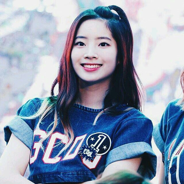 Dahyun from Twice with blue ombre hair! | Rambut ombre, Ombre, Rambut