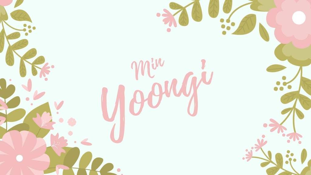 Desktop Wallpaper Min Yoongi Army S Amino