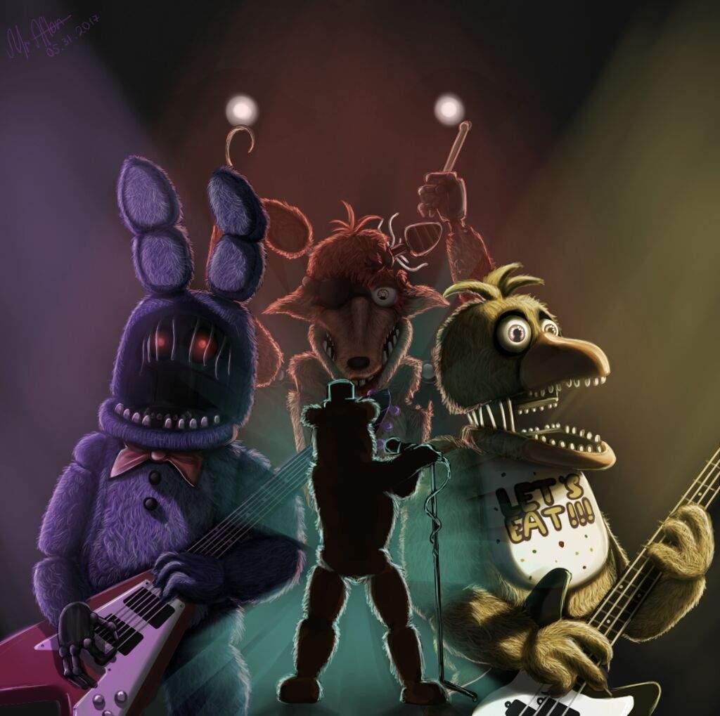 Five Nights At Freddy S Amino: [Fan-Art] The Savage Children Fan-art