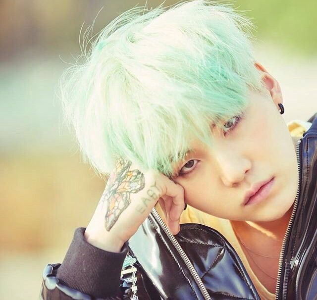 Bts With Green Hair Army S Amino