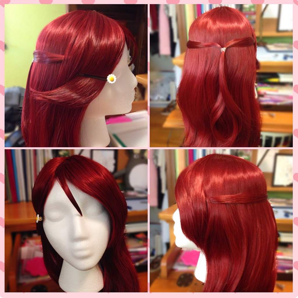 Wig Tutorial Riko From Love Live Sunshine Cosplay Amino