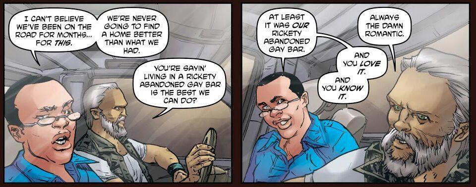Gay comic patrick