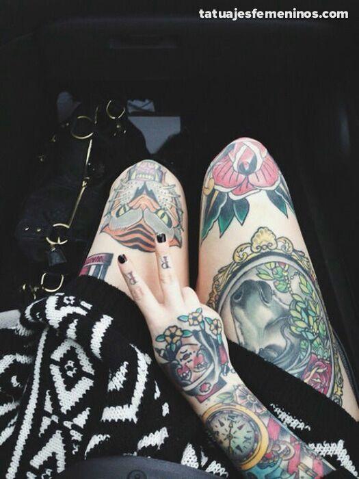 Tatuajes De Pierna Completa Para Mujeres Love Tattoos Amino