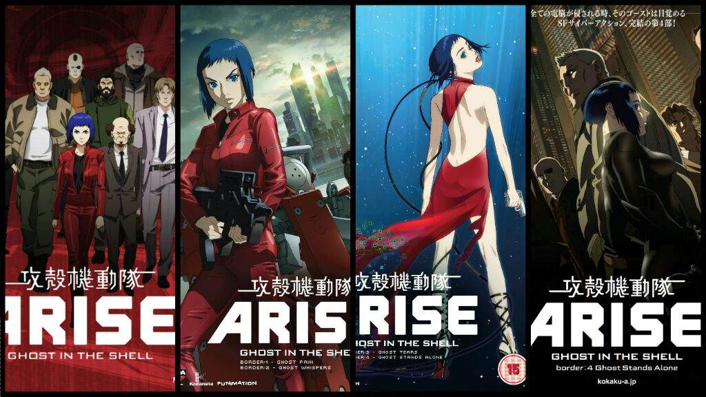 How To Get Into The Ghost In The Shell Franchise A Guide Anime Amino