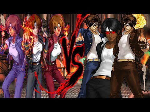 King Of Fighters 2002 Unlimited Match Now With Select Able