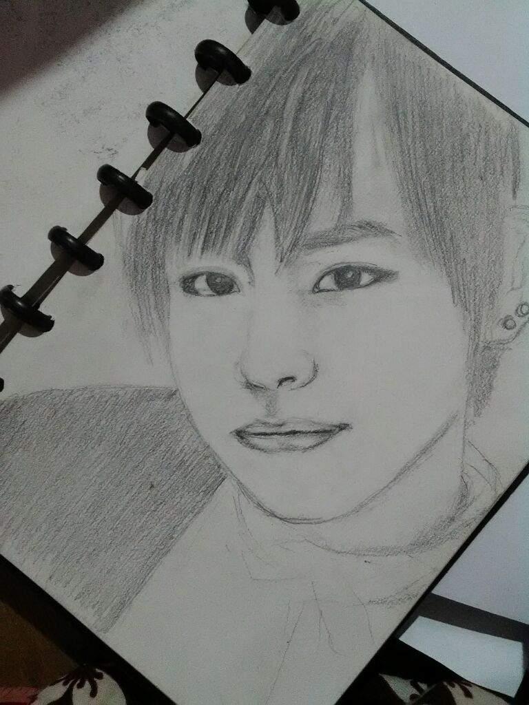 110 Gambar Sketsa Wajah Kim Taehyung