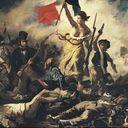 La libertad guiando al pueblo evidencia las luchas sociales de la época.
