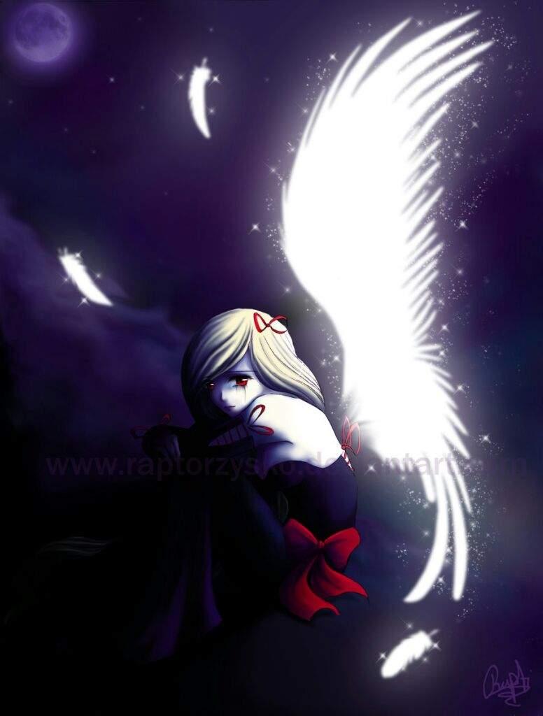 Image: Anime Fallen Angel Girl Anime fallen angel hd