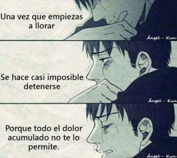 Frases sad :'v | •Anime• Amino
