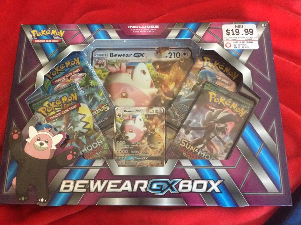 Thats Right I Got The One And Only Bewear GX Box That Ive Been Waiting So Long For Im Going To Be Opening It Up Today See What Awesome Cards