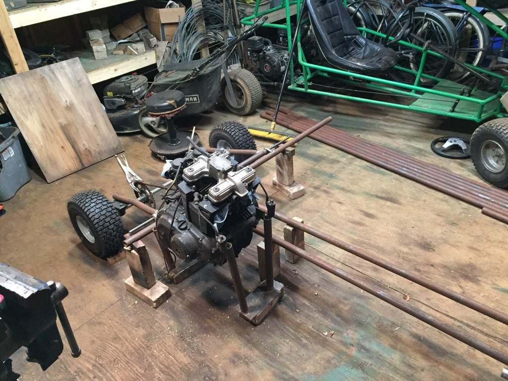 Mini gs 500 buggy build | Garage Amino