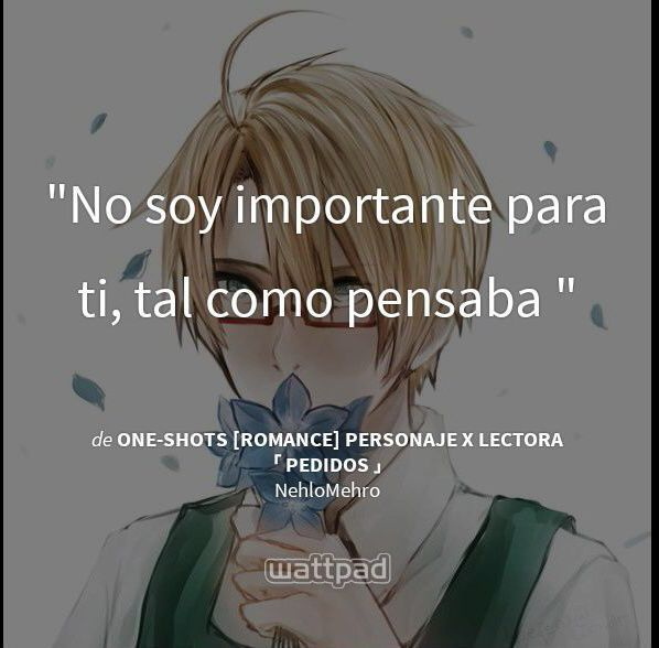 Frases Memorables De Mi Wattpad V Anime Amino