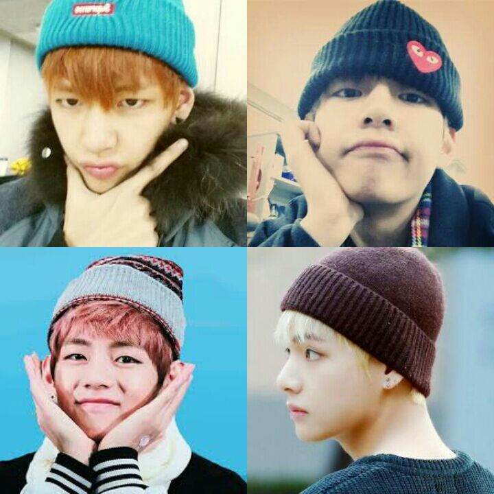TAEHYUNG and His HEADGEARS