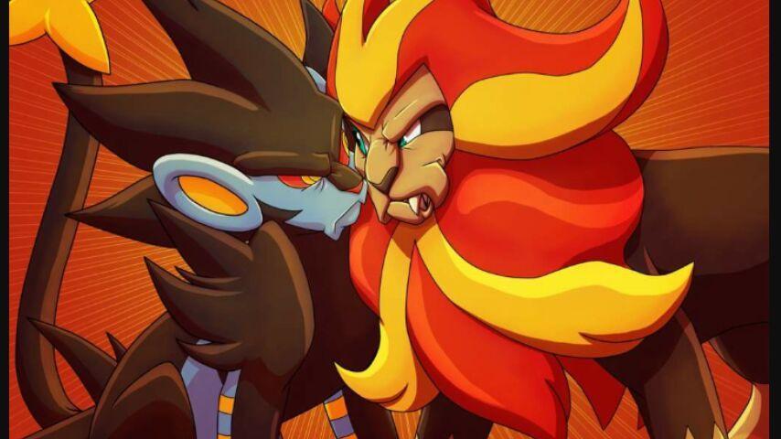 Luxray Pyroar