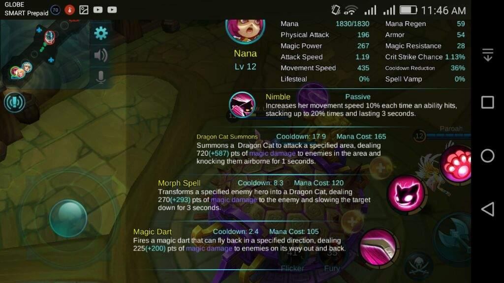 Nana's first skill is Magic Dart??? | ◇Mobile Legends Amino