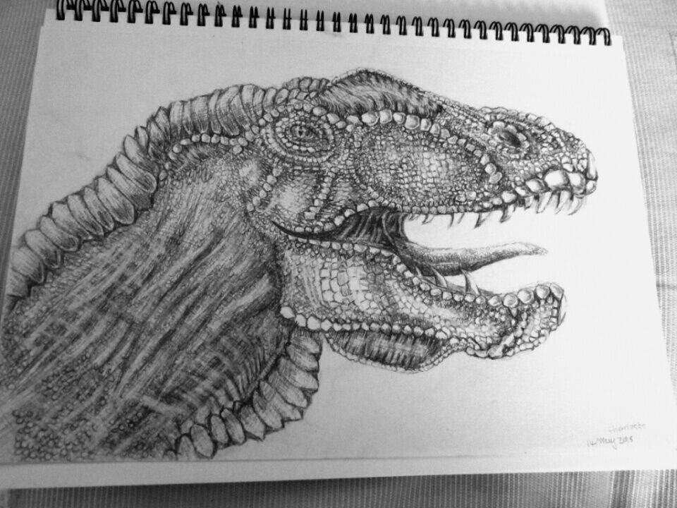 Dinosaur design - pencil drawing | Art Amino