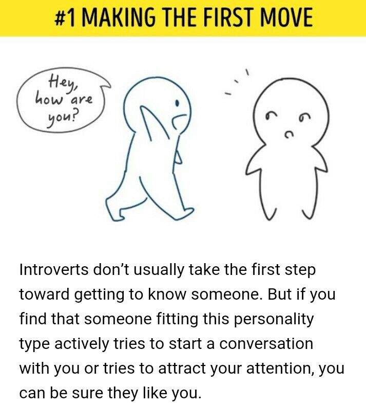 how to know if an introvert likes you