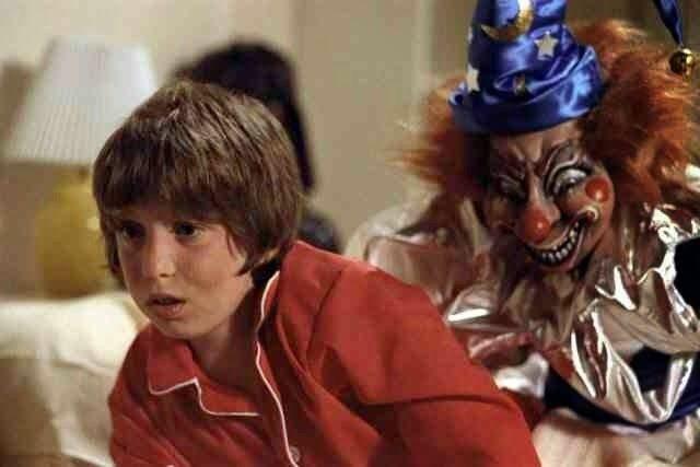 Image result for poltergeist clown scene