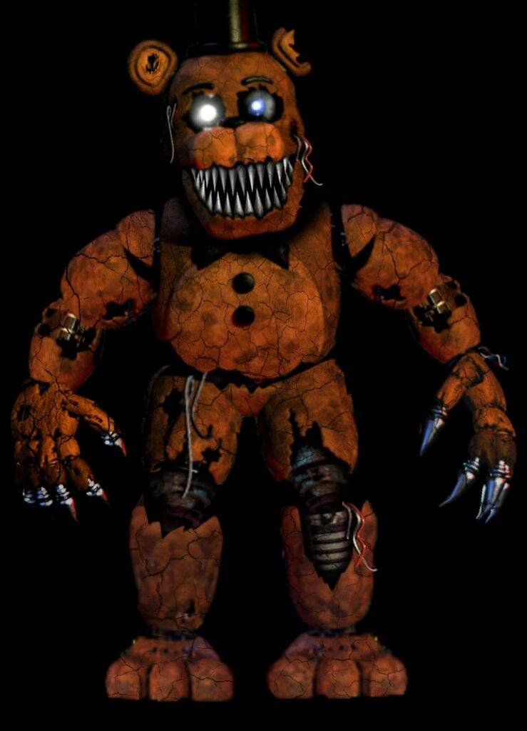 Nightmare Withered Freddy   Five Nights At Freddy's Amino