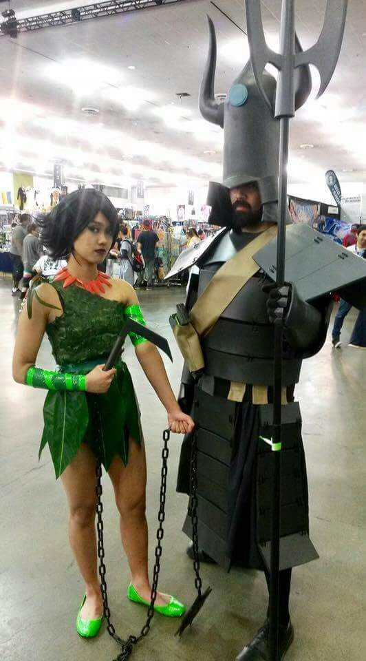 ashi cosplay jack Samurai