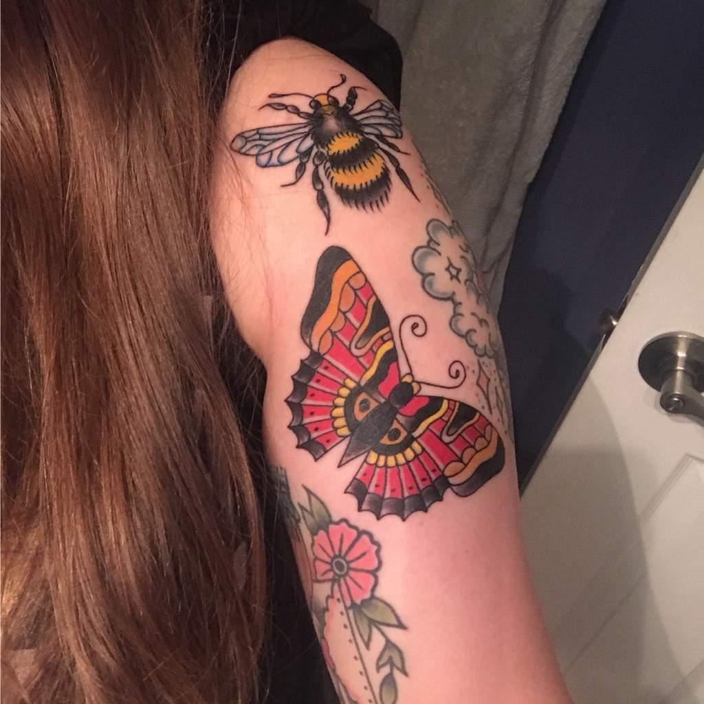 Float Like A Butterfly Sting Like A Bee Tattoo Amino