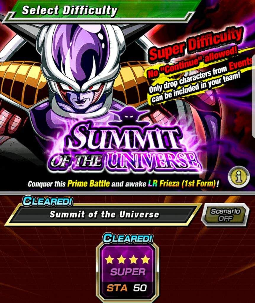infinite here just with a post showing my team for the lr frieza event each unit does a fairly decent job with damage and most of the passives are useful