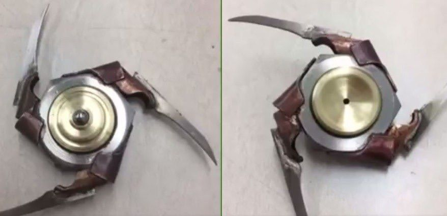 Video] Someone Made a Freddy Krueger Fid Spinner Bloody