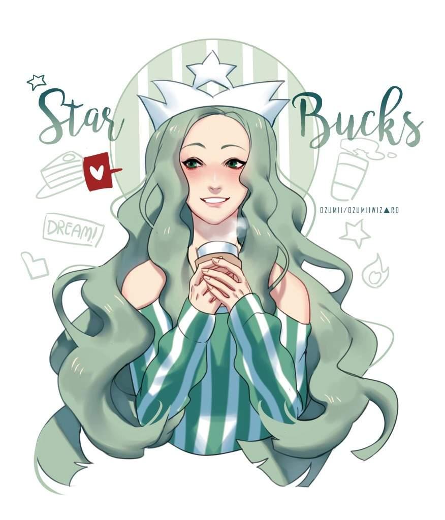 Starbucks Mascot Is A Anime Girl Anime Amino