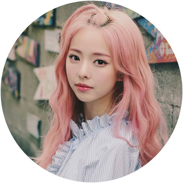 Vivi Is Something Similar To Woozi Shes Just So Cute And Since Pink Hair In My Opinion Is The Cutest Color She Became 100 More Cute