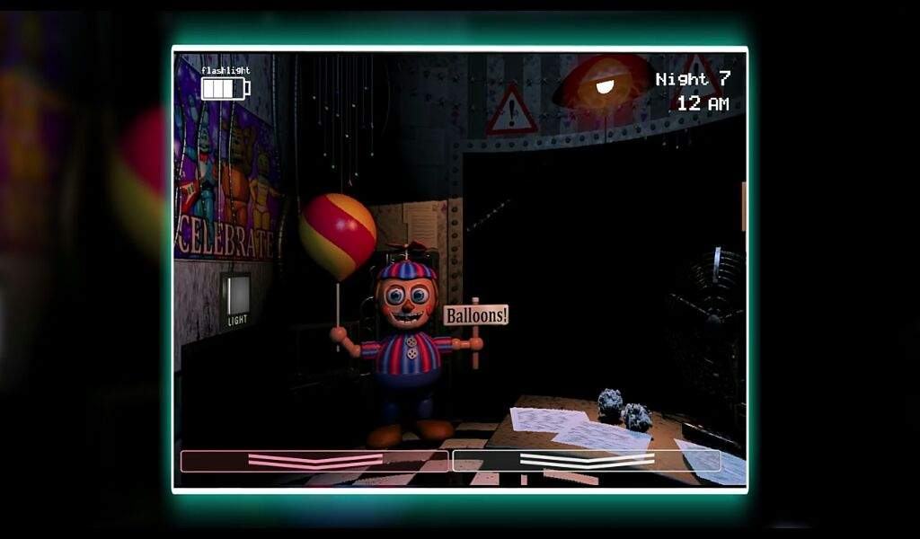Image result for five nights at freddy's gameplay balloon boy