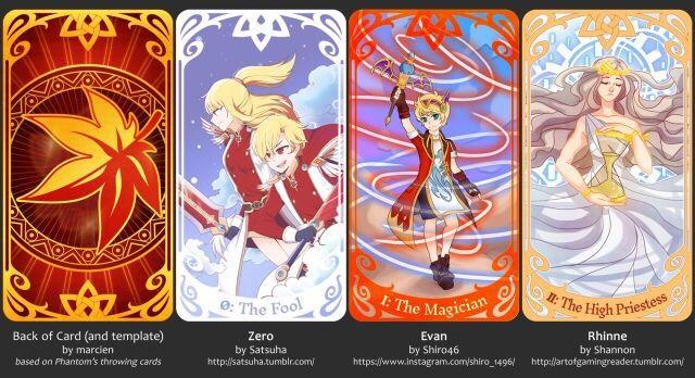 Maplesotry Tarot Cards Maplestory Amino - Tarot card template