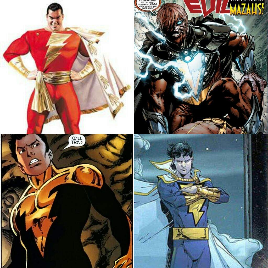 Black Adam As We Know In The First Injustice Captain Marvel Was Killed By Superman But There Are Others Alive So For I Thinking
